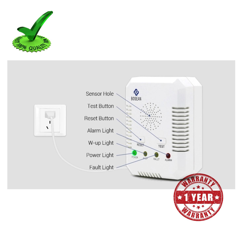 Bosean BH H1 Portable LPG Gas Leak Detector Alarm