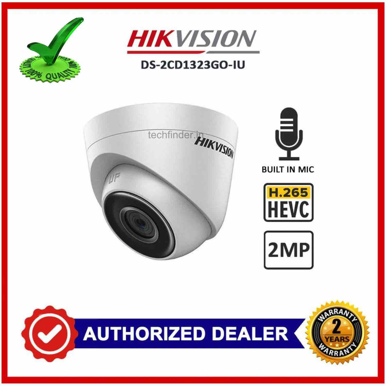 Hikvision DS-2CD1323G0-IU 2mp Ip Ir Dome Camera