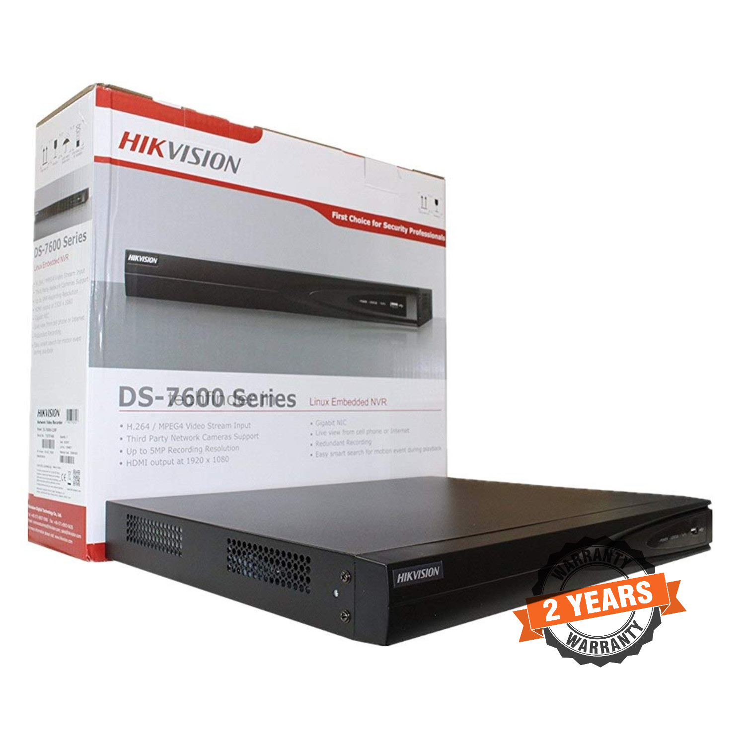 Hikvision DS-7604NI-Q1 Series 4ch 4k Nvr