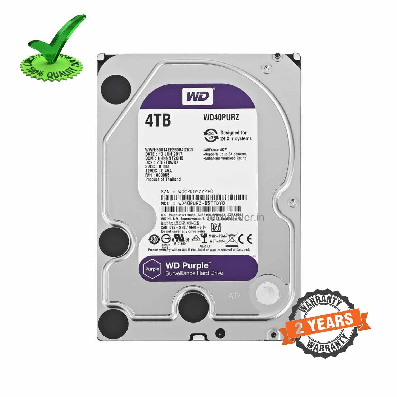 WD 4TB Surveillance Sata Hard Disk