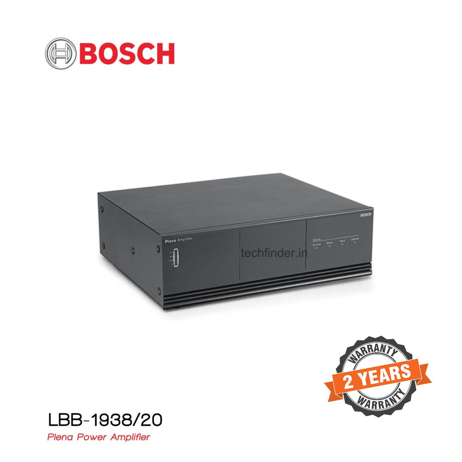 Bosch LBB 1938/20 Plena 480watt Power Audio Amplifier