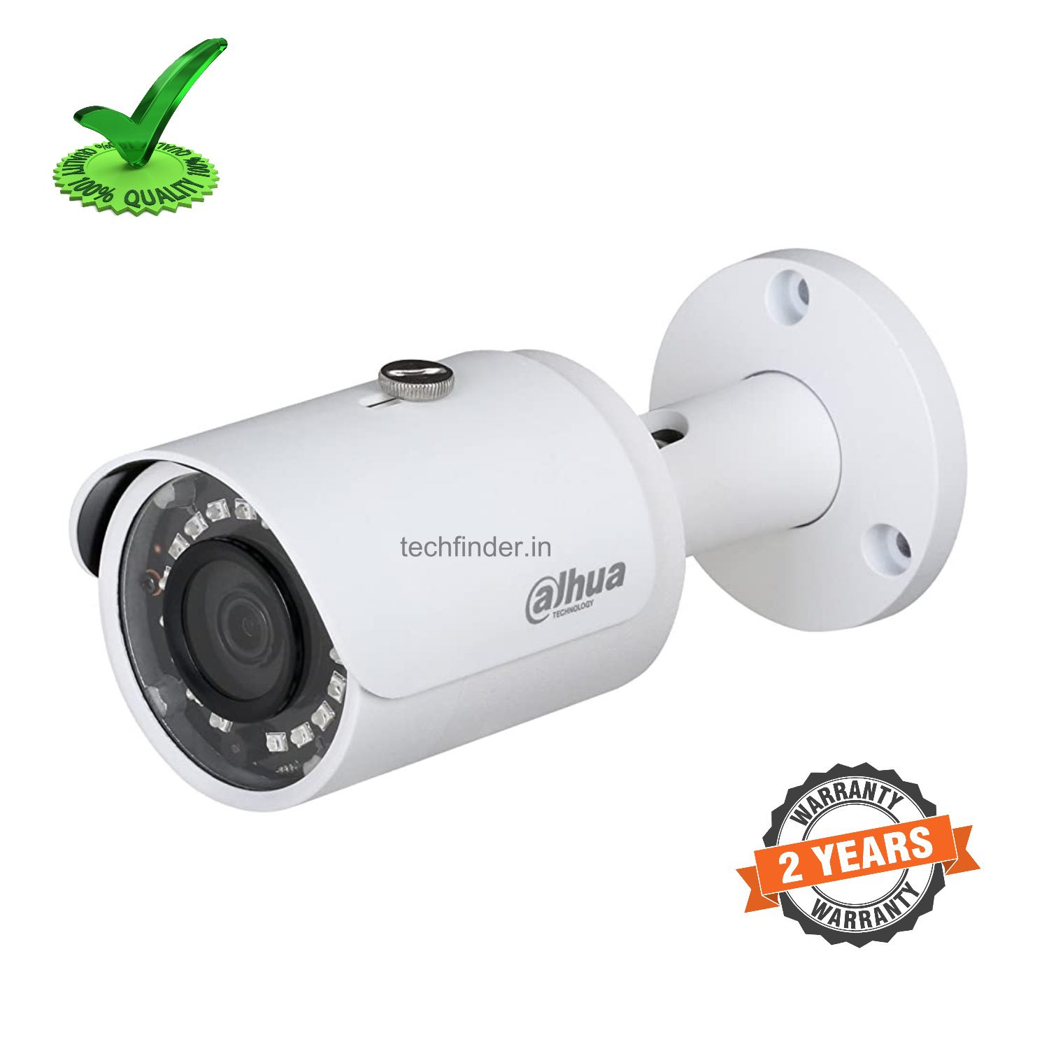 Dahua DH-IPC-HFW12B0SP-L 2MP IR Metal Mini-Bullet Network IP Camera