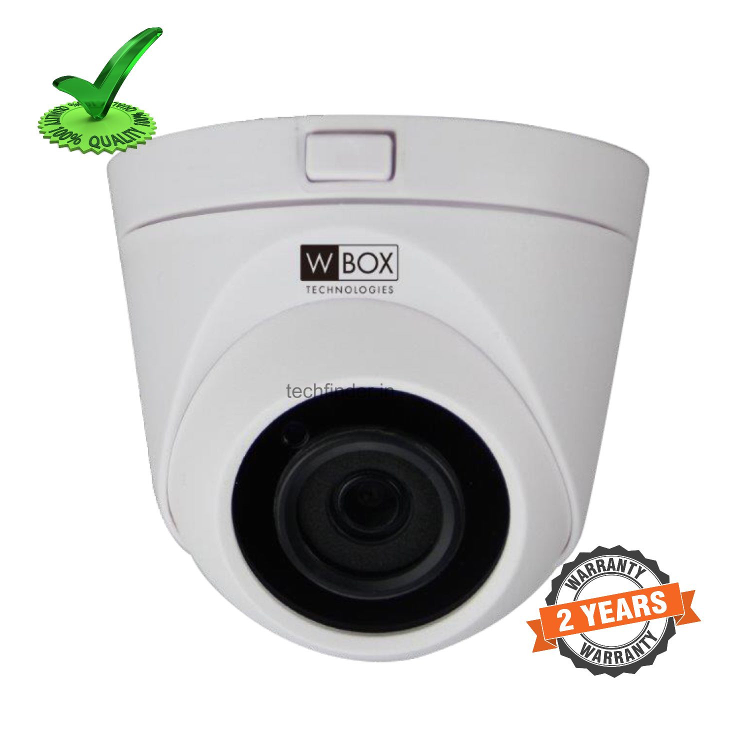 W Box WBC-0ECLHD5R2FSE AHD 5mp Metal Body IR Dome Camera