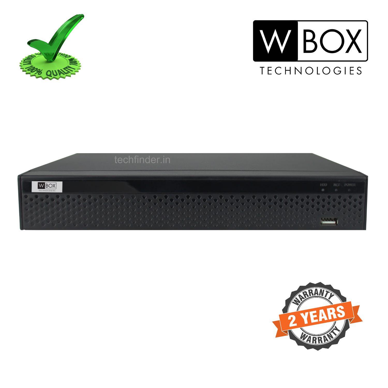 W Box WBC0E-CLDM08X1 8Ch 5mp 16ip 8TB 1 Sata AHD DVR