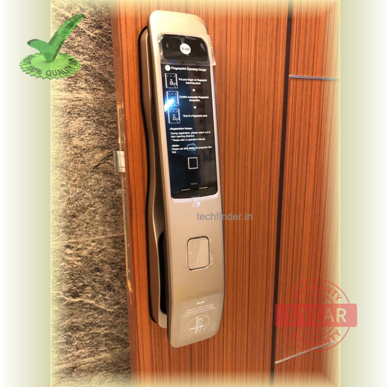 Yale YMI 70 Pull Push Finger Print Smart Door Lock