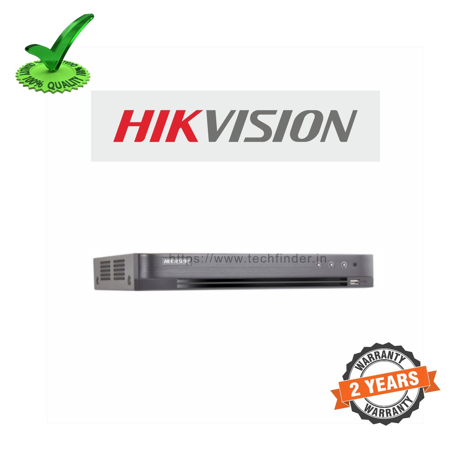Hikvision DS-7B04HUHI-K2 Series 4ch 5mp 2 Sata DVR