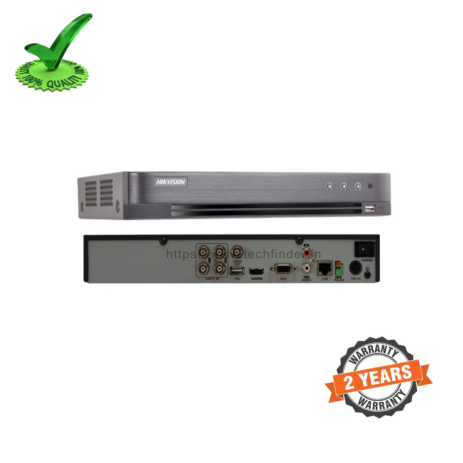 Hikvision DS-7B16HUHI-K2 Series 16ch 5mp 2 Sata DVR