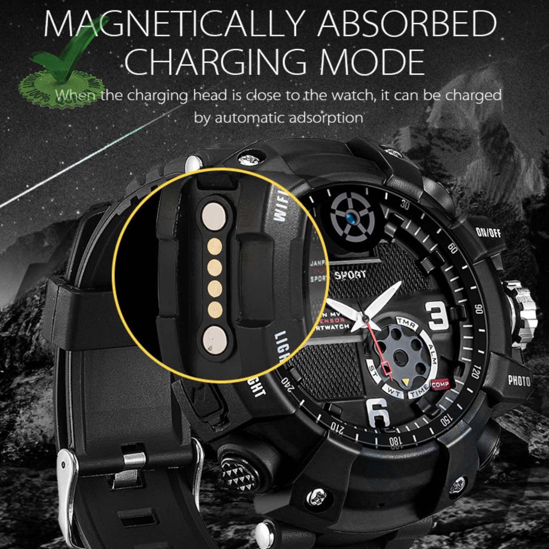 Hidden Secret Spy Camera with Recorder in 32GB Wifi Wrist Watch