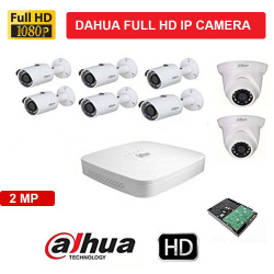 Dahua 8Camera Setup Combo Kit