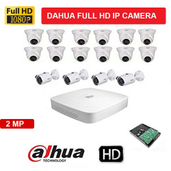 Dahua 16Camera Setup Combo Kit