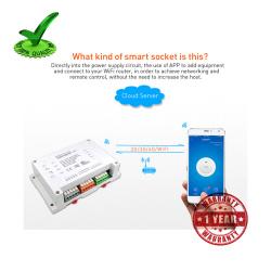 4ch Sonoff Wifi RF Smart Timer Switch