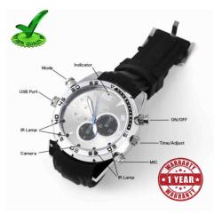 Hidden Video Camera in Wrist Watch