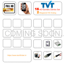 TVT HD 16 Camera Set Combo Kit