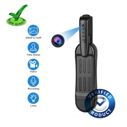 Wearable 4k Pen Camera with Mini DVR