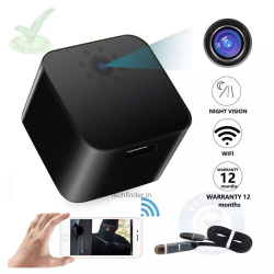 4k Wi-Fi Spy Hidden Camera with Recorder in Charging Adaptor