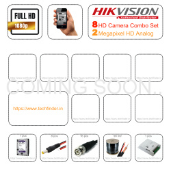 Hikvision HD 8 CCTV Camera Setup Combo Set