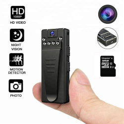 4K FHD High Resolution Wearable Mini Hidden Portable Spy Camera